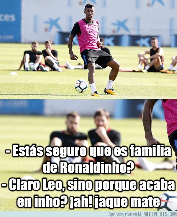 994431 - La conversación de Messi y Jordi Alba sobre Paulinho