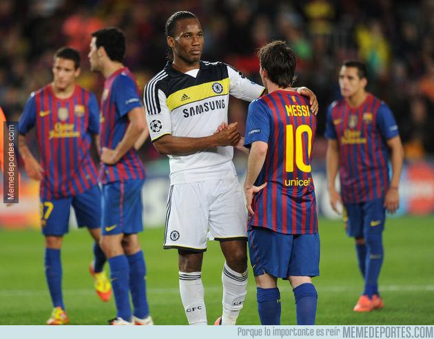 994455 - La anécdota de Drogba sobre Messi antes del Chelsea - Barcelona de 2012