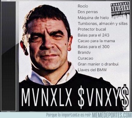994478 - El nuevo disco de Manolo Sanchís lo va a petar, por @Mongolear