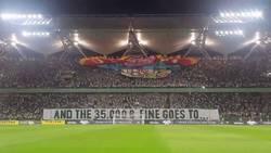 Enlace a La UEFA sancionó con 35.000€ al Legia por antifascistas, así respondieron...