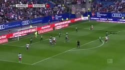 Enlace a Nicolai Muller se lesiona la rodilla de gravedad tras celebrar de esta forma su gol