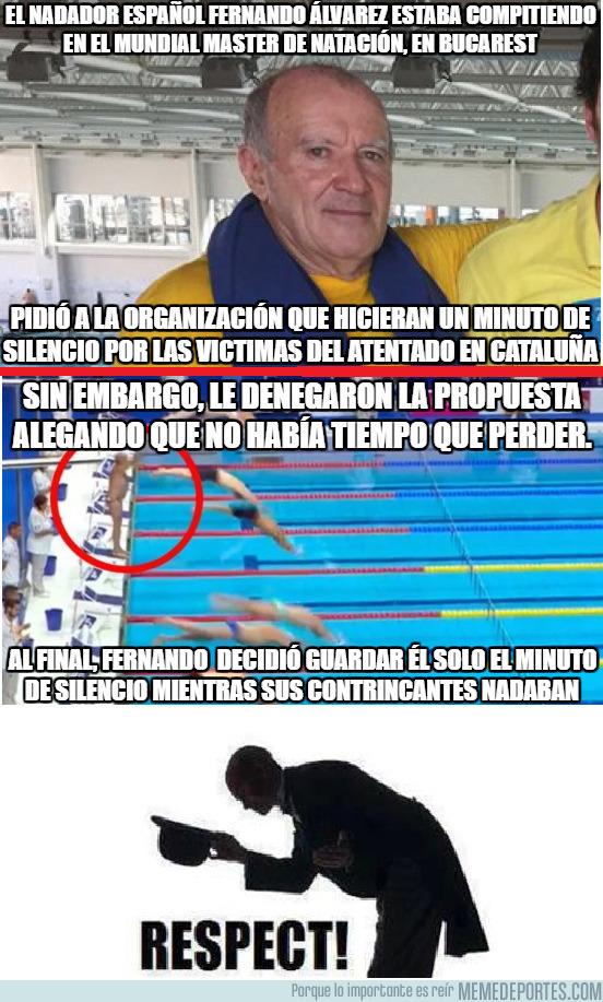 994544 - Fernando Álvarez se ha ganado el respeto del mundo del deporte