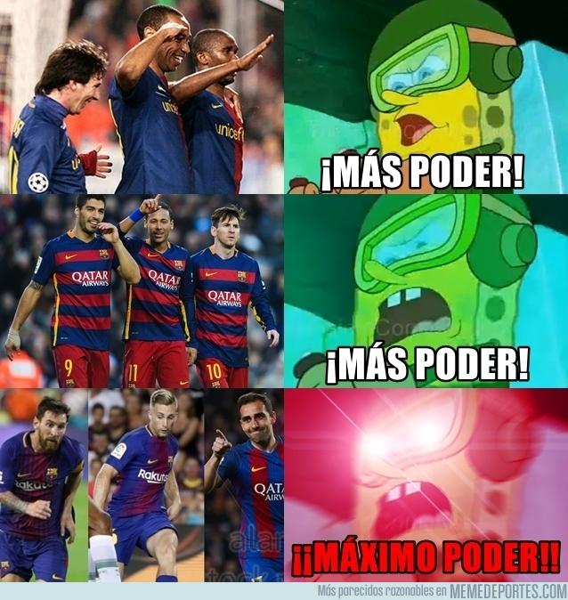 994554 - El Barça al máximo poder