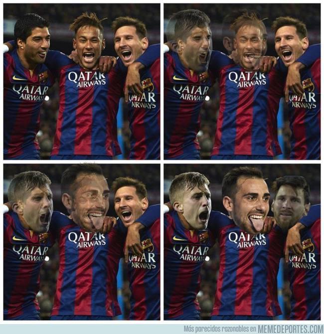 994633 - El tridente perfecto, pero a Messi no le gusta
