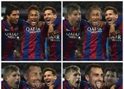 Enlace a El tridente perfecto, pero a Messi no le gusta