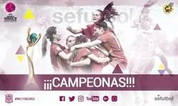 Enlace a La seleccion española campeona de la WU19EURO