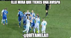 Enlace a La agresión de Ramos al jugador del Depor