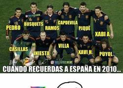 Enlace a Cuando recuerdas a la España del 2010