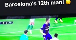 Enlace a El hombre nº12 del Barcelona ante el Betis