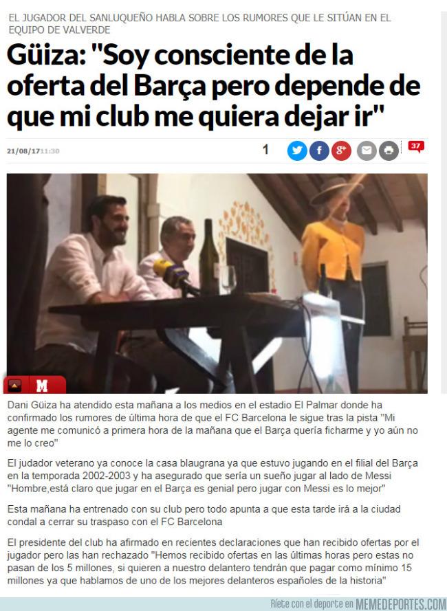 994830 - Noticia de Última Hora: Fichaje inminente del Barça #jajajano