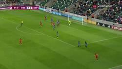 Enlace a Gol de España femenina sub-19 en el min 89 para ser campeonas de Europa