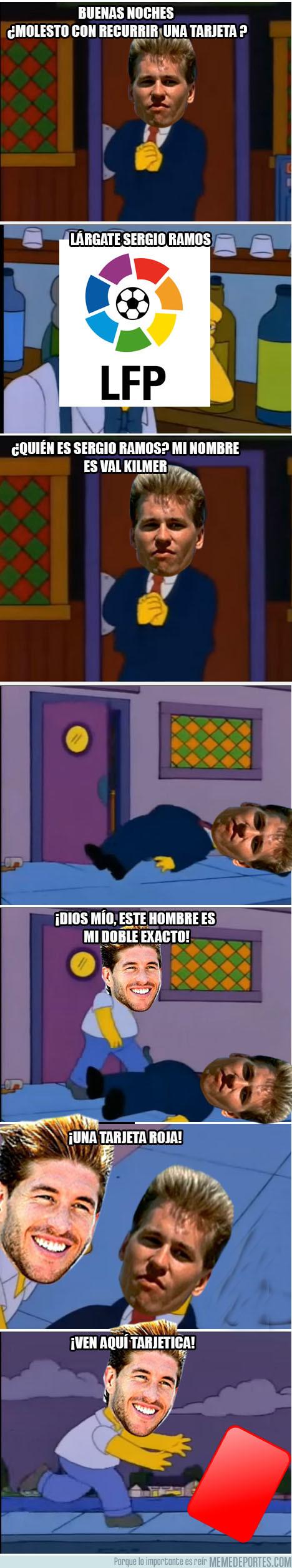 994965 - La debilidad de Sergio Ramos