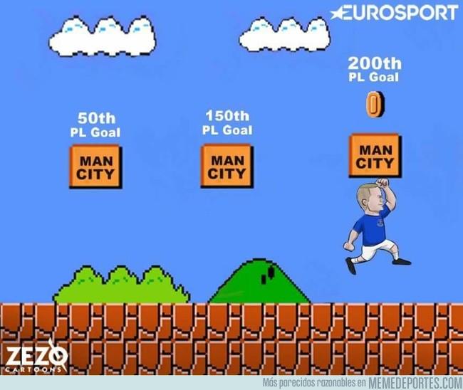995251 - Wayne Rooney y su manía de redondear siempre contra el City
