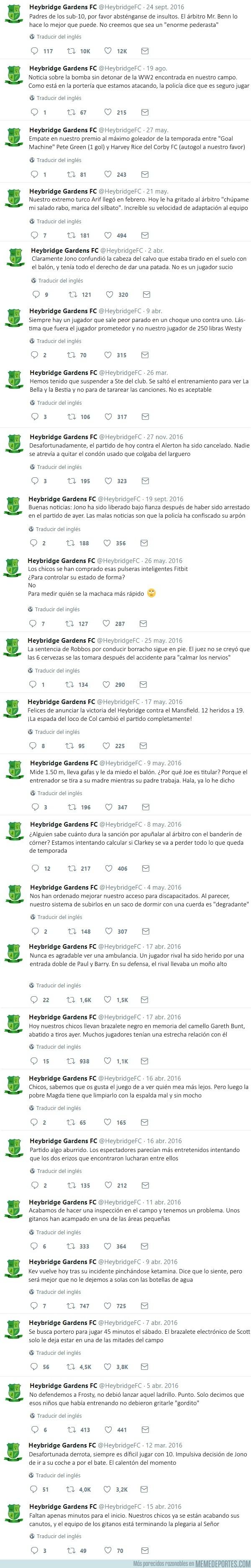 995272 - Los mejores tweets del Heybridge Gardens FC, equipo amateur inglés ficticio