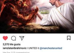 Enlace a Y con ésta imagen Zlatan confirma que vuelve al United