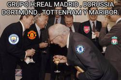 Enlace a Reacción de los ingleses al ver que grupo le tocó a Tottenham