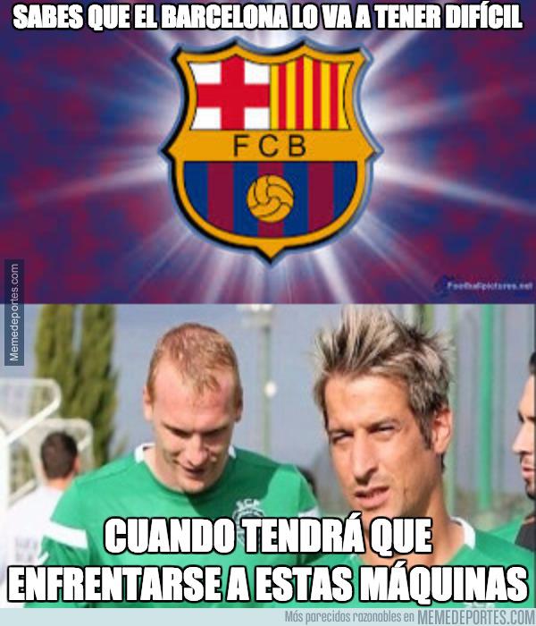 995413 - La complicación del Barça