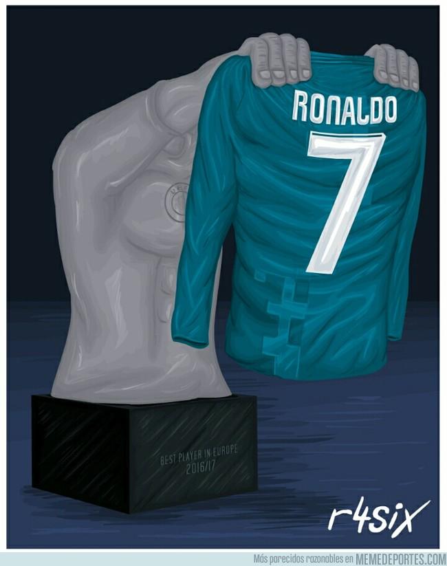 995423 - Cristiano Ronaldo mejor jugador de la UEFA, por @r4six