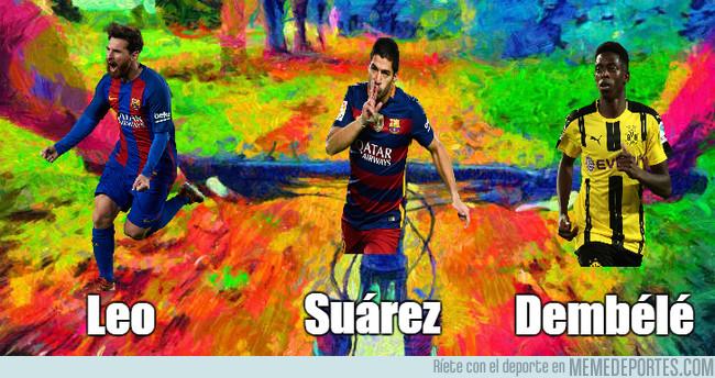 995477 - Luego dirán que el Barça está mal, si su tridente está en la droga, LSD