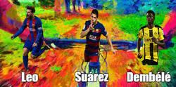 Enlace a Luego dirán que el Barça está mal, si su tridente está en la droga, LSD