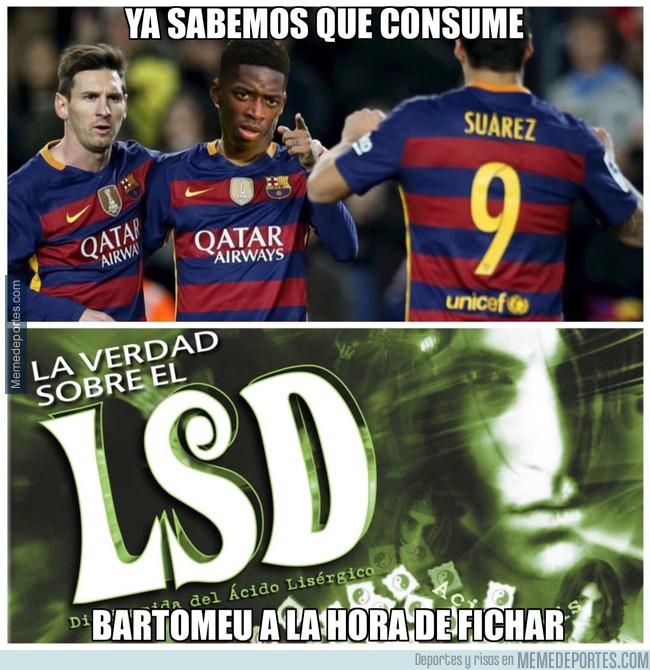 995537 - La verdad sobre el nuevo tridente del Barça y su nombre...