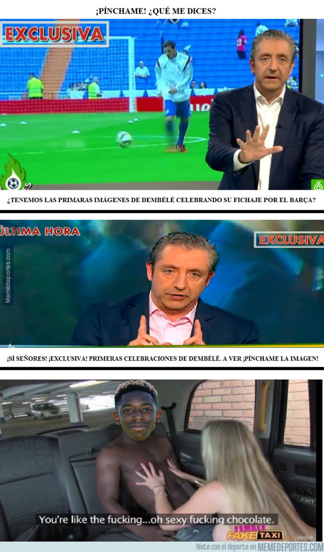 995617 - ¡EXCLUSIVA! ¡Dembélé muy contento por ser nuevo jugador del Barça!