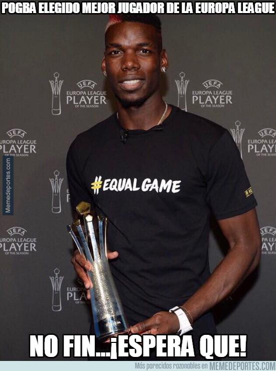 995622 - Pogba elegido mejor jugador de la Europa League