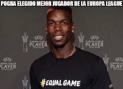 Enlace a Pogba elegido mejor jugador de la Europa League