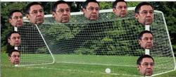 Enlace a Lo que ve Messi para darle siempre al palo