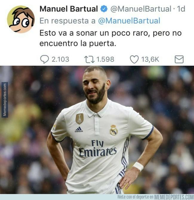 996114 - Benzema se siente identificado con Manuel