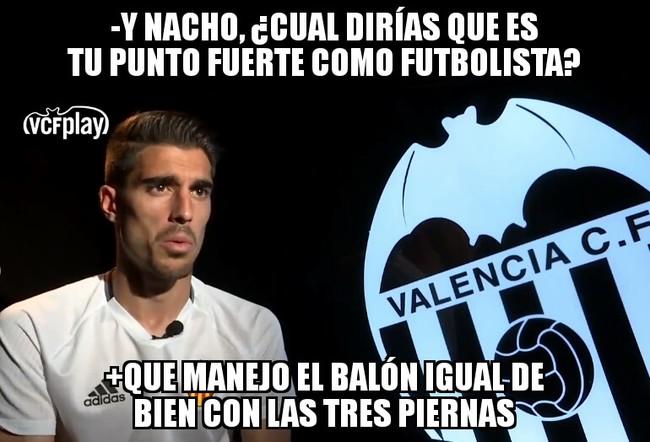 996307 - Nacho Vidal, un jugador muy polifacético