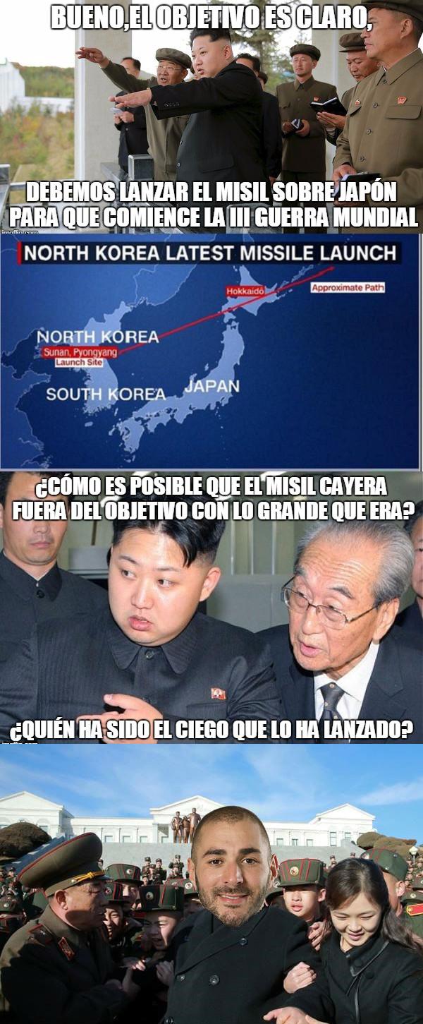 996358 - Ya sabemos por qué el misil de Corea del Norte cayó en el mar
