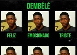 Enlace a Dembélé no cambia