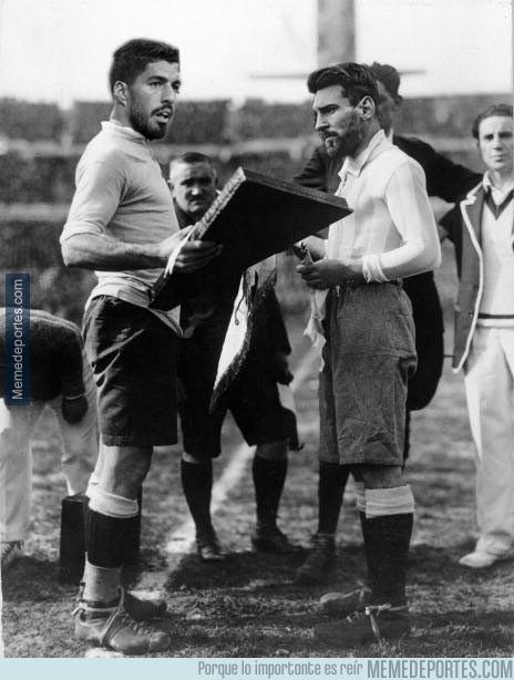 996700 - Suáez-Messi, el clásico más antiguo del mundo