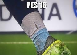 Enlace a PES 18 juega a otra cosa...