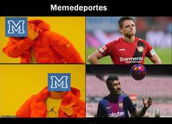Enlace a Memedeportes y su nuevo Dios, sale Chicharito, entra Paulinho