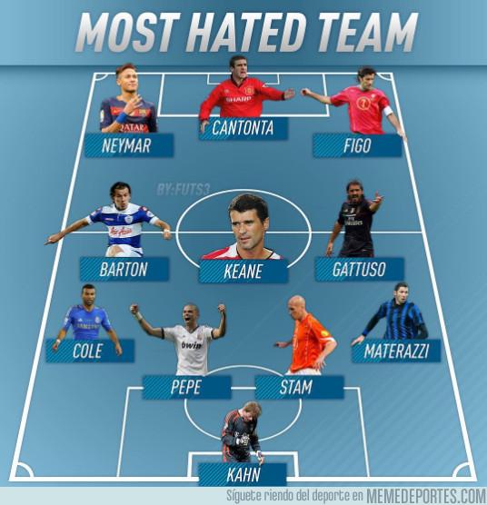 1000230 - El equipo de los jugadores más odiados de la historia