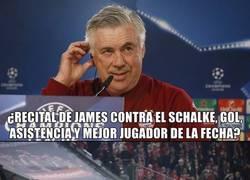 Enlace a Esto es lo que piensa Ancelotti de James