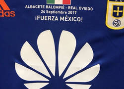 Enlace a Gran gesto del Real Oviedo con los afectados por el terremoto de México