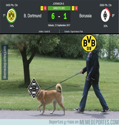1000643 - El Dortmund abusa del Monchengladbach como quiere