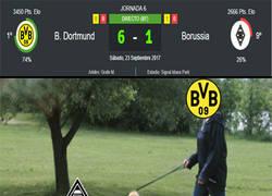 Enlace a El Dortmund abusa del Monchengladbach como quiere