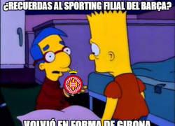 Enlace a Girona marcándose un Sporting de Gijón