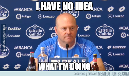 1000786 - Pepe Mel haciéndolo muy bien con el Deportivo...