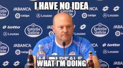 Enlace a Pepe Mel haciéndolo muy bien con el Deportivo...