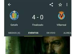 Enlace a Cuando al Villarreal le meten 4
