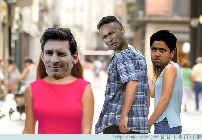 1000894 - Lágrimas de Neymar después de ver brillar a Messi