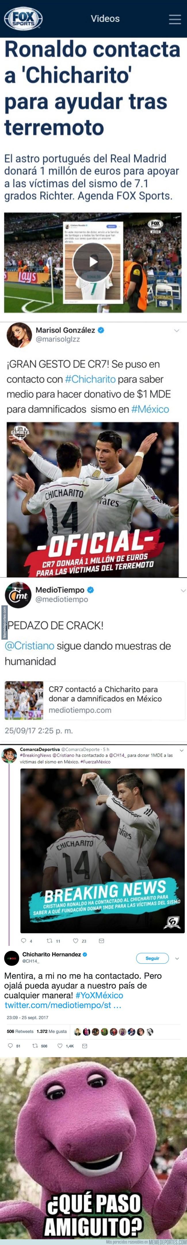 1000954 - Corre un bulo del sismo de Mexico en Twitter y uno de los protagonistas la desmiente personalmente