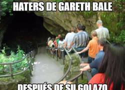 Enlace a Gareth Bale callando bocas
