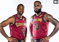 Enlace a Fans de Miami Heat viendo el nuevo fichaje de Cleveland