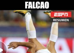 Enlace a El breakdance de Falcao